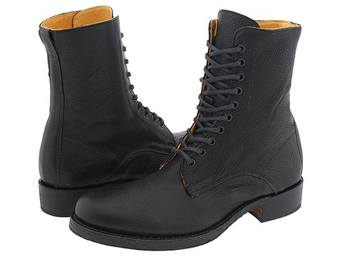 Ghete Frye - Brando Lace Boot - Black