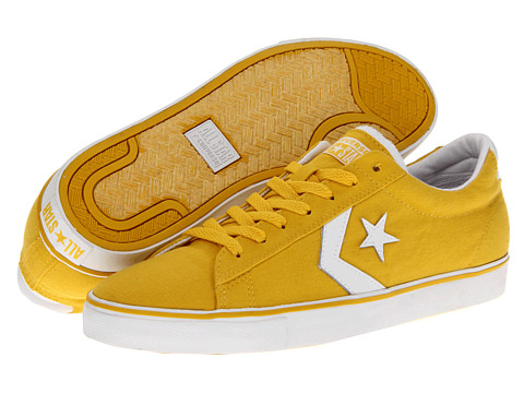 Adidasi Converse - Pro Leather Vulc Ox - Runner Yellow Canvas