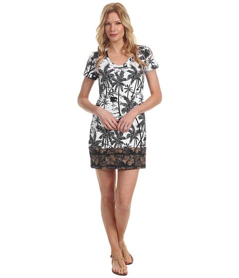 Rochii Tommy Bahama - Tiki Moon T-Shirt Dress - Beach Taupe
