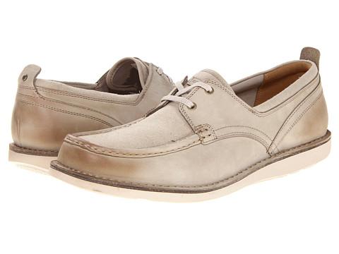 Pantofi Rockport - ES Boat Moc - Linen/Oxford Tan