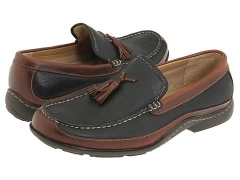 Pantofi Hush Puppies - Radius - Black/Brown Suede/Leather