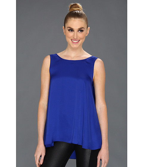 Bluze BCBGMAXAZRIA - Draped Back Top - Royal Blue