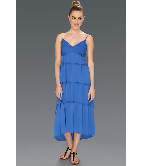 Rochii BCBGMAXAZRIA - Fannie Tiered Dress - Larkspur Blue