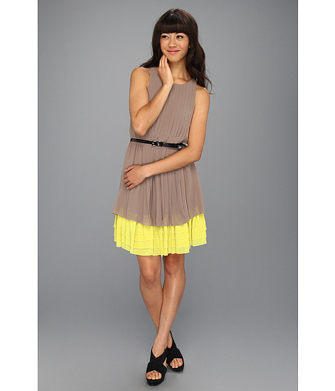 Rochii Jessica Simpson - Sleeveless Dress - Taupe