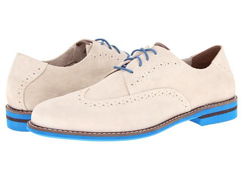 Pantofi Florsheim - Doon Wing - Bone Suede/Blue Bottom