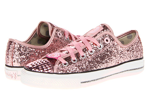 Adidasi SKECHERS - Gimme Low - Glitter Explosion - Pink