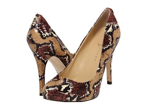 Pantofi Ivanka Trump - Pinkor - Beige Snake/Palm Snake
