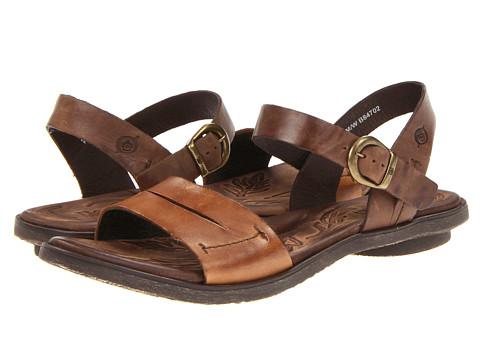 Sandale Born - Ebb - Camel (Natural) Full Grain Leather