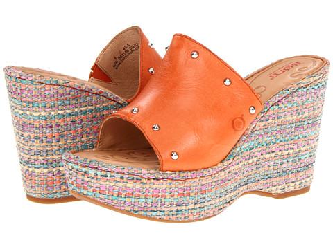 Sandale Born - Kendri - Orange Full Grain Leather