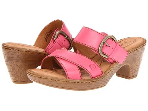 Sandale Born - Salima - Fuchsia (Pink) Full Grain Leather