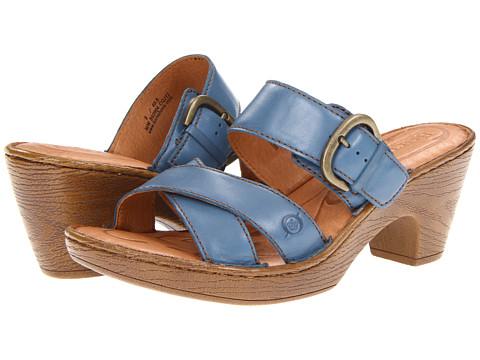 Sandale Born - Salima - Sea Blue (Blue) Full Grain Leather