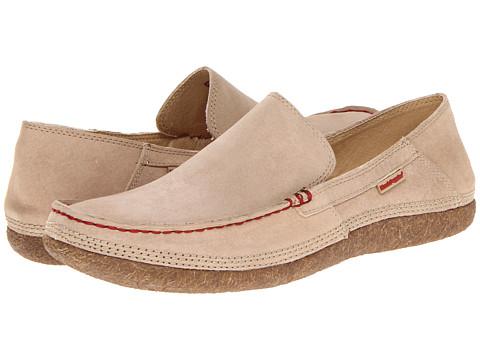 Pantofi Hush Puppies - Profile Fold Down - Taupe Suede