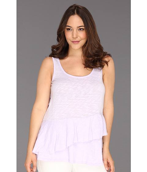 Tricouri DKNY - Plus Size Ruffle Tier Top - Clematis