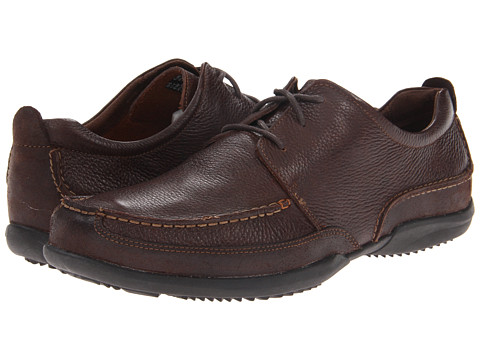 Pantofi Hush Puppies - Accel Oxford MT - Dark Brown Leather