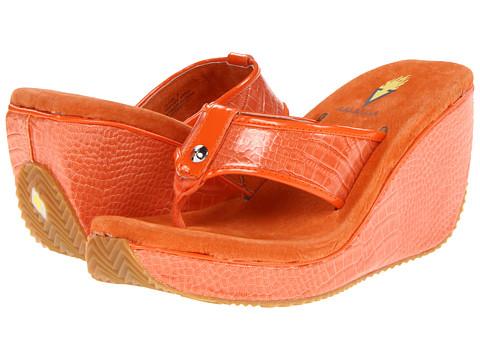 Sandale VOLATILE - Crocodilia - Orange