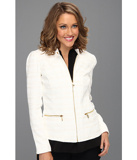 Sacouri Calvin Klein - Textured Jacket - Soft White