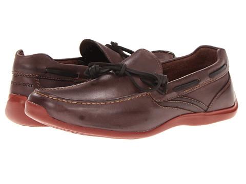 Pantofi Rockport - Drivesports Lite One-Eye - Dark Brown