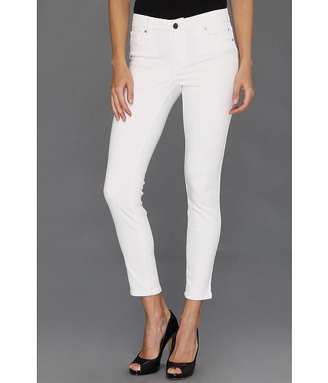 Blugi Anne Klein New York - AKJ-Leo Skinny Jean in White - White