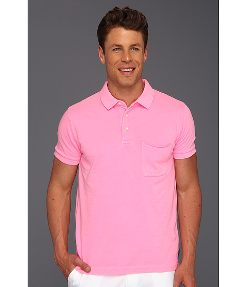 Tricouri French Connection - Pocket Polo Shirt - Fluro Pink