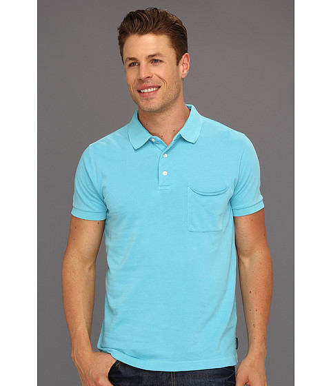 Tricouri French Connection - Pocket Polo Shirt - Blue Atoll