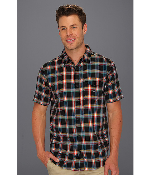 Tricouri DC - Eschaton S/S Woven Shirt - Pirate Black
