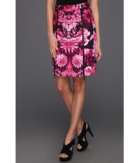 Fuste Michael Kors - Kew Garden Snap Waist Skirt - Neon Pink