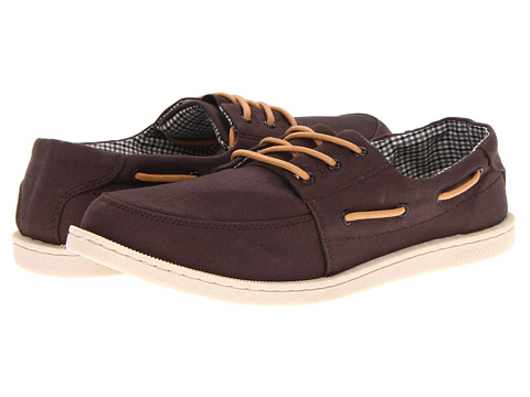 Adidasi Quiksilver - Surfside Low - Brown/Brown/Off White
