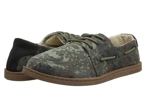 Adidasi Quiksilver - Surfside Low - Green/Brown/Black