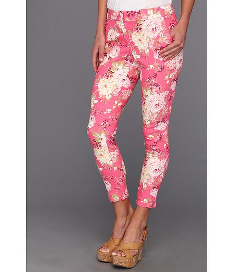 Pantaloni Gabriella Rocha - Laurette Floral Print Stretch Pant - Pink