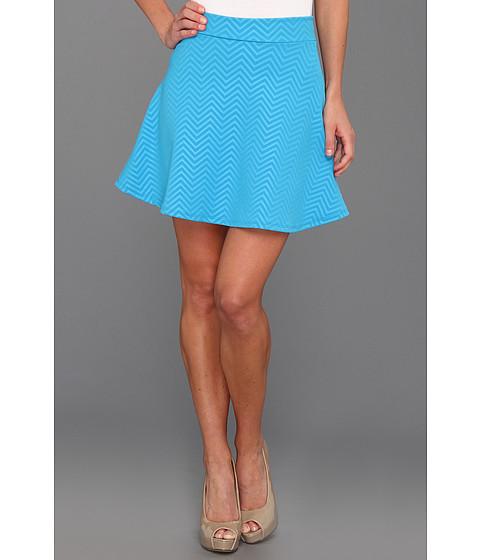 Pantaloni Gabriella Rocha - Parnella Zig Zag Skater Skirt - Blue