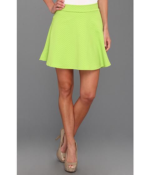 Pantaloni Gabriella Rocha - Parnella Zig Zag Skater Skirt - Neon Green