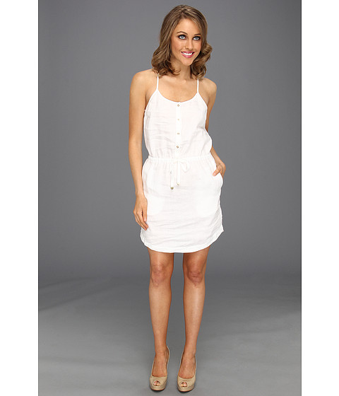 Rochii Juicy Couture - Beach Linen Dress - White