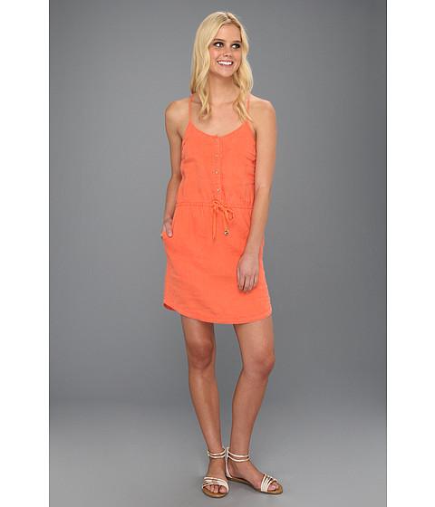 Rochii Juicy Couture - Beach Linen Dress - Coral Gloss