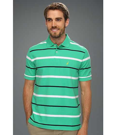 Tricouri Nautica - Stripe Deck Shirt - Spiner Green
