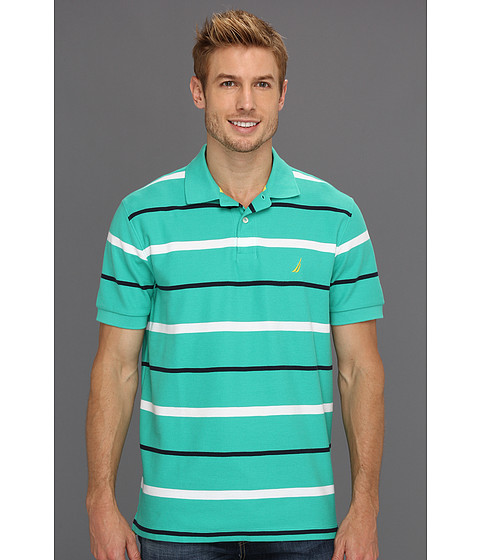 Tricouri Nautica - Stripe Deck Shirt - Flipper Jade