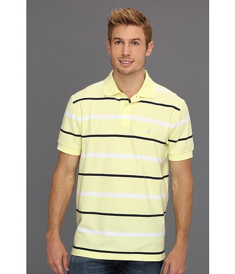 Tricouri Nautica - Stripe Deck Shirt - Lemon Mist