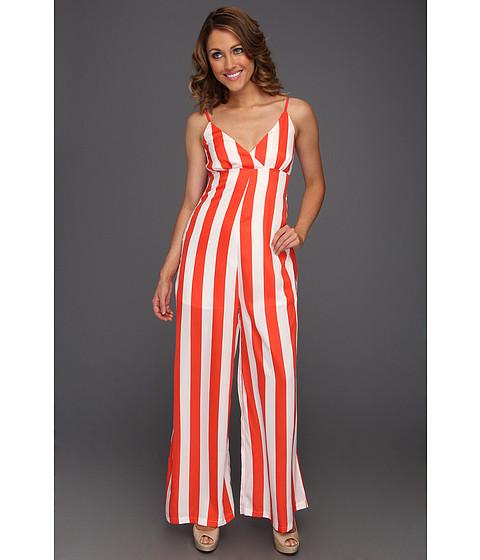Pantaloni Gabriella Rocha - Delphine Stripe Jump Suit - Orange