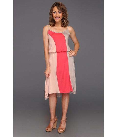 Rochii Christin Michaels - Kia Dress - Coral/Multi