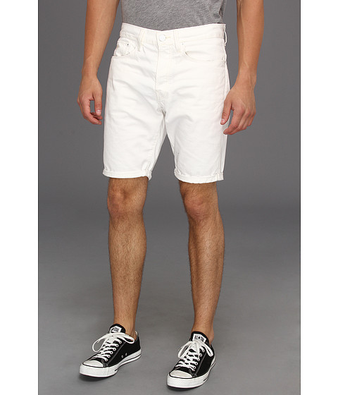 Pantaloni G-Star - 3301 Straight Short in Talc White - Talc White Denim Light Tumble