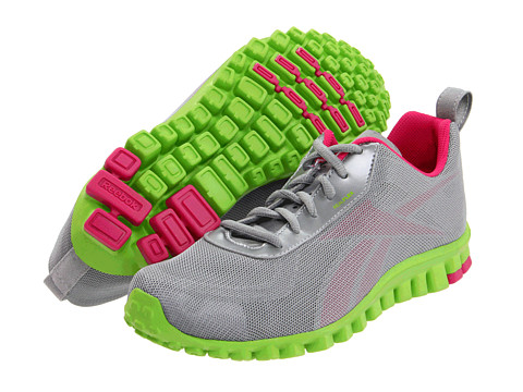 Adidasi Reebok - RealFlex Scream - Flat Grey/Condensed Pink/Acidic Green