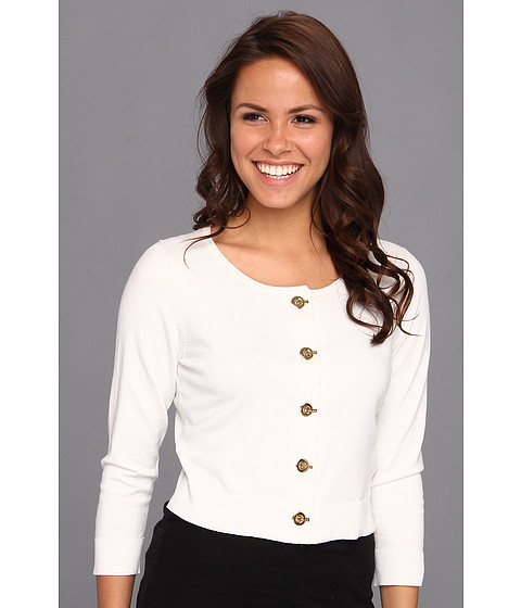 Tricouri Calvin Klein - Grommet Shrug - Soft White