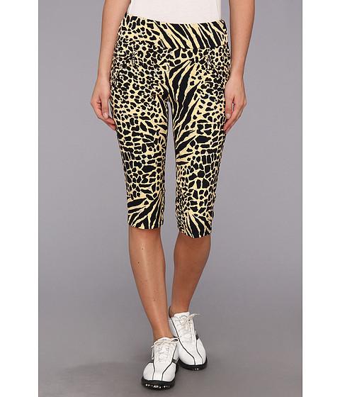 "Pantaloni DKNY - Animal Print 24\"" Knee Capri - Buttermilk"