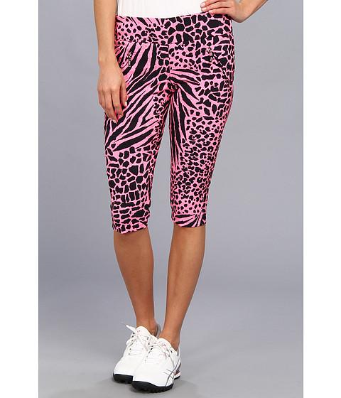 "Pantaloni DKNY - Animal Print 24\"" Knee Capri - Melrose"