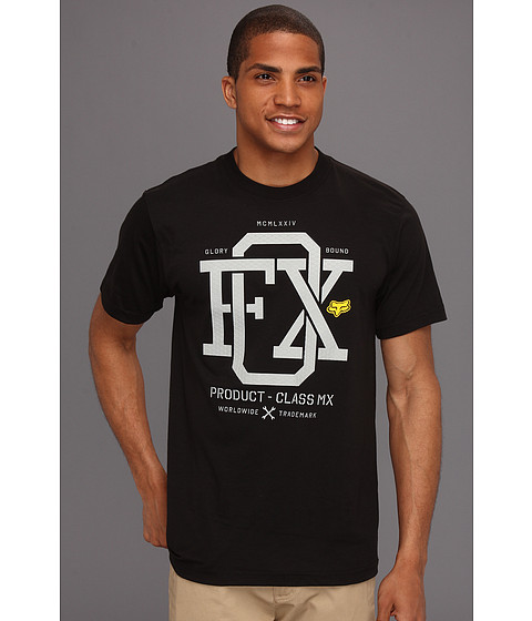 Tricouri Fox - Wind Streak S/S Tech Tee - Black