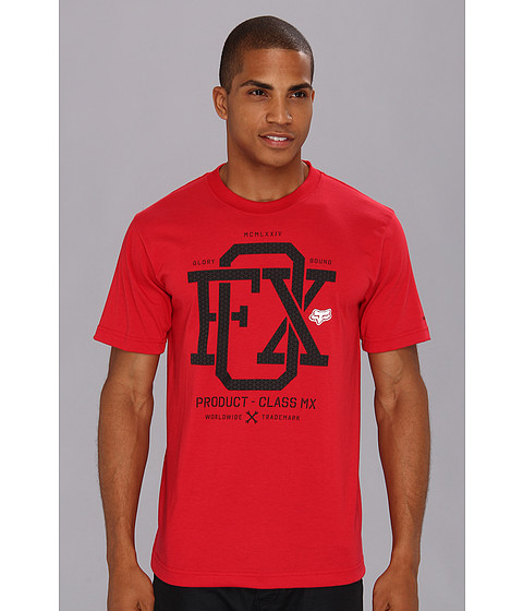 Tricouri Fox - Wind Streak S/S Tech Tee - Red