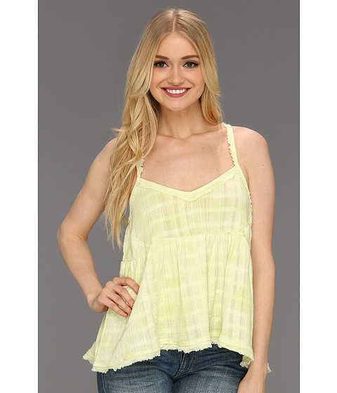 Bluze Free People - All Stars Aligned Top - Neon Yellow
