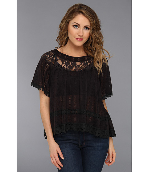 Bluze Free People - Dandelion Top - Black