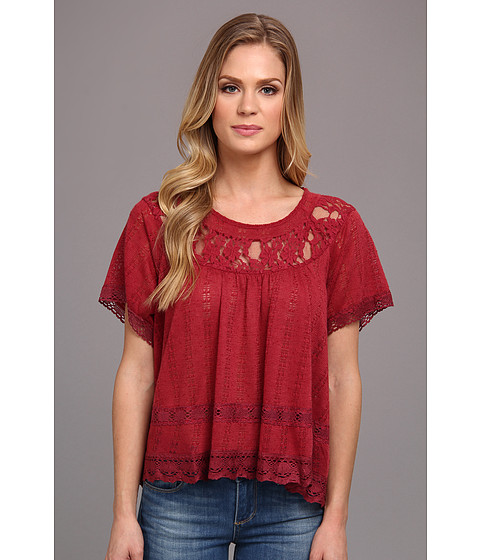 Bluze Free People - Dandelion Top - Merlot