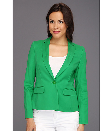 Jachete Anne Klein New York - Petite One Button Blazer - Lawn