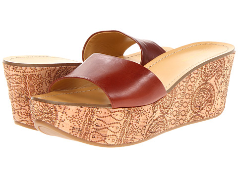 Sandale Nine West - Relax - Brown Leather
